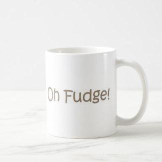 Caneca De Café Oh Fudge!