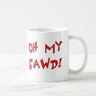 Caneca De Café Oh meu Gawd! OMG!