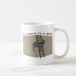 Caneca De Café Oh você, LadderGoat, você tão aleatório
