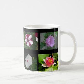 Caneca De Café Oito flores diferentes 3