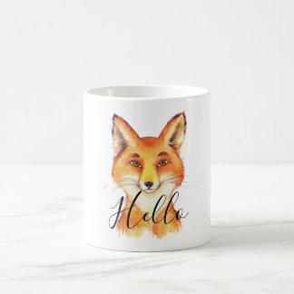 Caneca De Café Olá! Fox