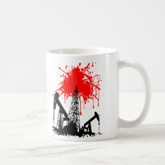 Caneca De Café Óleo do sangue