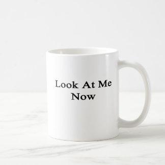 Caneca De Café Olhe-me agora