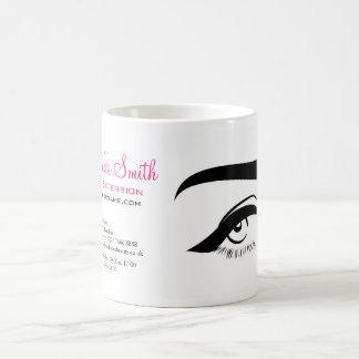 Caneca De Café Olho com marcagem com ferro quente da extensão do