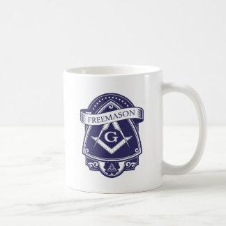 Caneca De Café Olho devista de Illuninati do Freemason