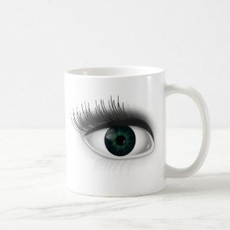Caneca De Café Olho verde