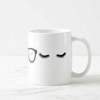 Caneca De Café Olhos cansados