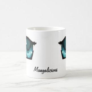 Caneca De Café Olhos de Mangalicious