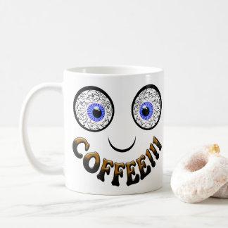 Caneca De Café Olhos do café