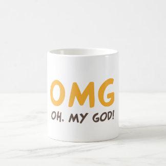 Caneca De Café OMG - Oh meu deus!