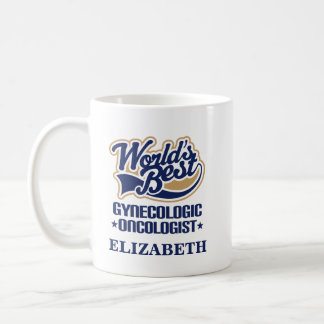 Caneca De Café Oncologista ginecológica presente personalizado da