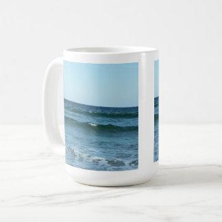 Caneca De Café Ondas de oceano do rolamento