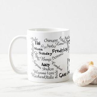Caneca De Café Onde está meu nome Mug.v4
