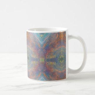 Caneca De Café Opal 2 do caleidoscópio