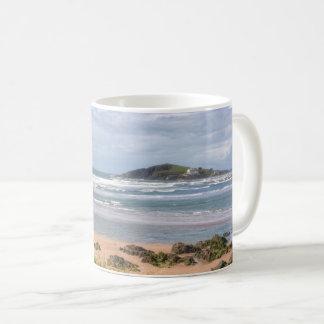 Caneca De Café Opinião da ilha de Bantham e de Burgh