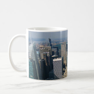 Caneca De Café Opinião da skyline de New York do Empire State
