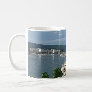 Caneca De Café Opinião do mar de Jamaica