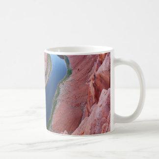 Caneca De Café Opinião superior da arizona em ferradura da