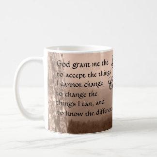 Caneca De Café oração da serenidade