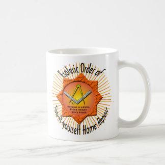 Caneca De Café ordem esotérico fazer--você mesmo de reparo da