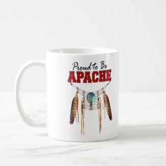Caneca De Café Orgulhoso ser Apache