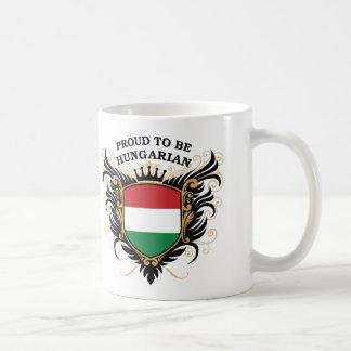 Caneca De Café Orgulhoso ser húngaro