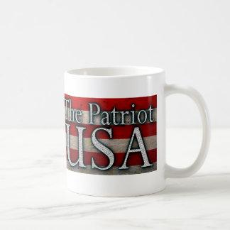Caneca De Café Orgulhoso ser um americano