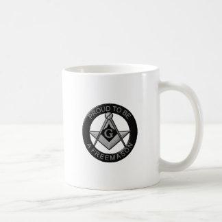 Caneca De Café Orgulhoso ser um Freemason