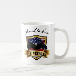 Caneca De Café Orgulhoso ser um veterano dos E.U.