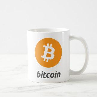 Caneca de café original do símbolo do logotipo de