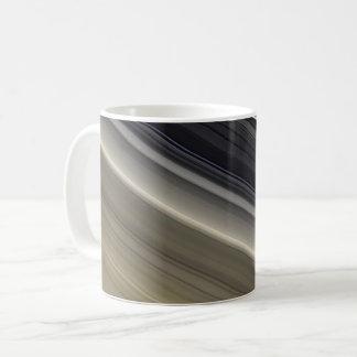 Caneca De Café Os anéis de Saturn - cor natural