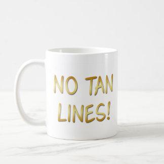 Caneca De Café Os Bathers de Sun, nenhum Tan alinham,