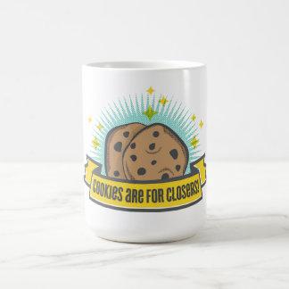 Caneca De Café Os biscoitos do bebê | do chefe são para Closers!