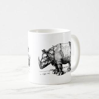 Caneca De Café Os dois rinocerontes