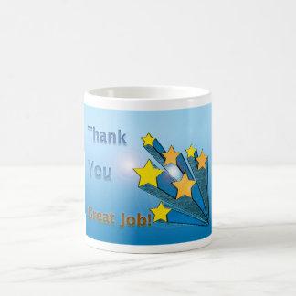 Caneca De Café Os empregados agradecem-lhe