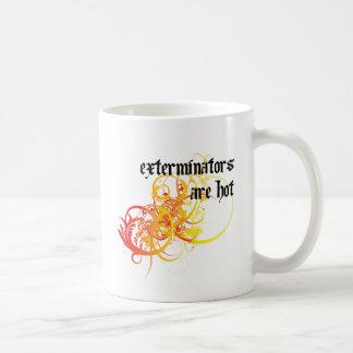 Caneca De Café Os Exterminators estão quentes