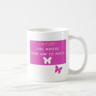 Caneca De Café Os fabricantes do cartão sabem perfurar!