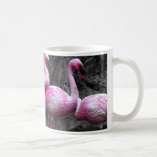 Caneca De Café OS FLAMINGOS COR-DE-ROSA DO ~Flamingos~,