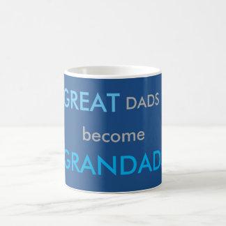 Caneca De Café Os grandes pais transformam-se Grandads