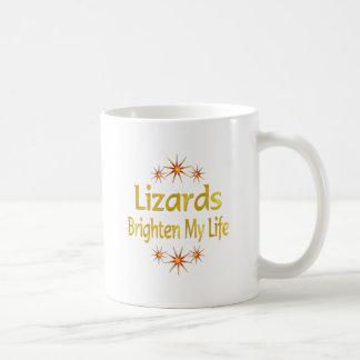 Caneca De Café Os lagartos iluminam minha vida