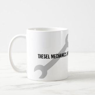 Caneca De Café Os mecânicos diesel têm umas ferramentas mais