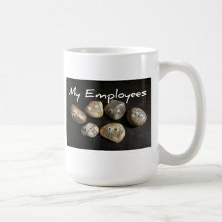 Caneca De Café Os melhores empregados nunca