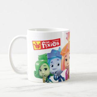 Caneca De Café Os miúdos de Fixies | Fixie