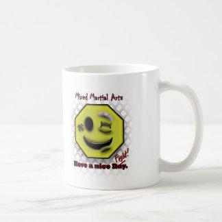 Caneca De Café Os Muttahida Majlis-E-Amal sorriem, têm um dia