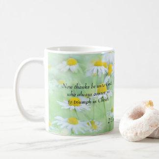 Caneca De Café Os obrigados sejam ao deus - 2 2:14 dos