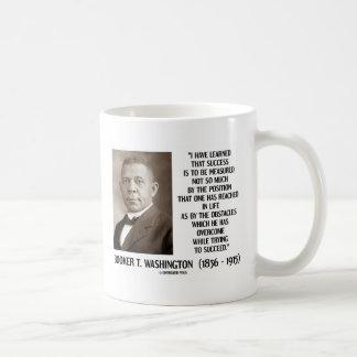 Caneca De Café Os obstáculos de Booker T. Washington superados