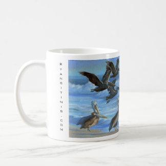 Caneca De Café Os pelicanos de Ventura