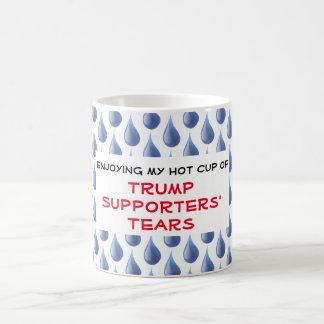 Caneca De Café Os rasgos dos suportes engraçados do trunfo
