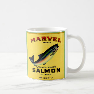 Caneca De Café os salmões da maravilha dos anos 30 podem