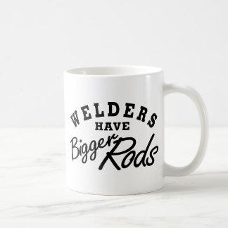 Caneca De Café Os soldadores têm…